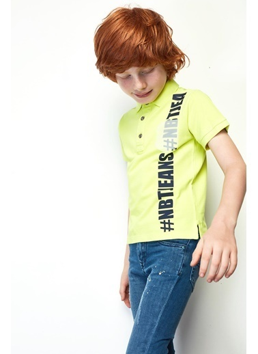 Nebbati Erkek Çocuk Jean Pantolon 19SS1NB3207 Mavi